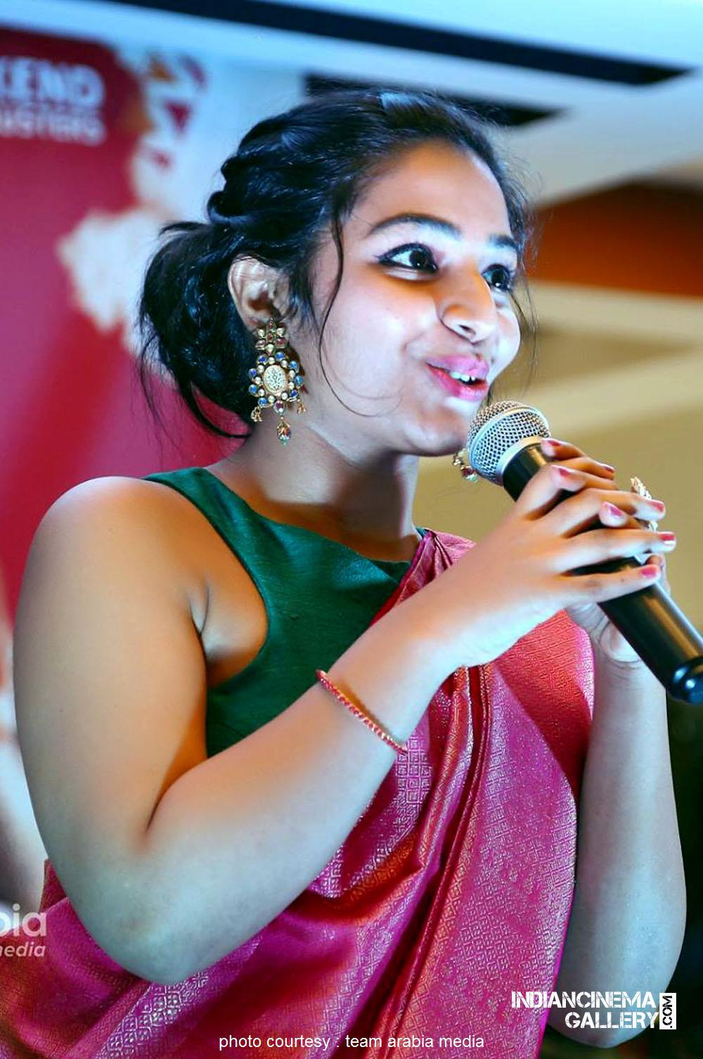 Rajisha Vijayan at oru cinemakkaran dubai promo event (20)