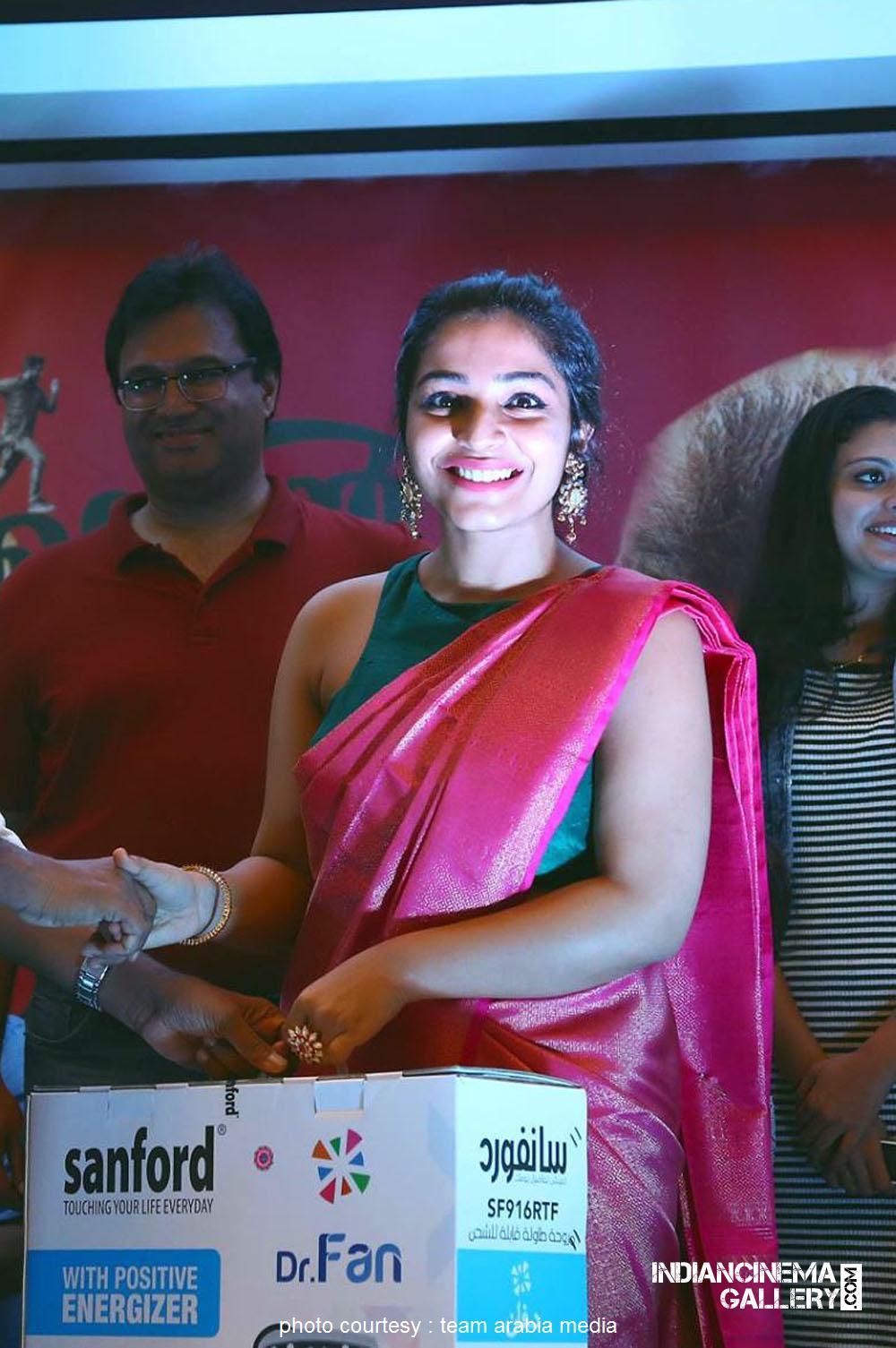 Rajisha Vijayan at oru cinemakkaran dubai promo event (21)
