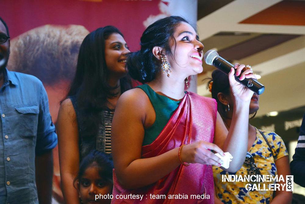 Rajisha Vijayan at oru cinemakkaran dubai promo event (4)