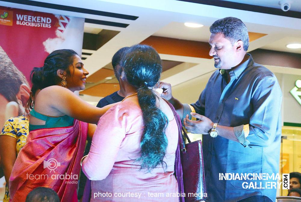 Rajisha Vijayan at oru cinemakkaran dubai promo event (5)
