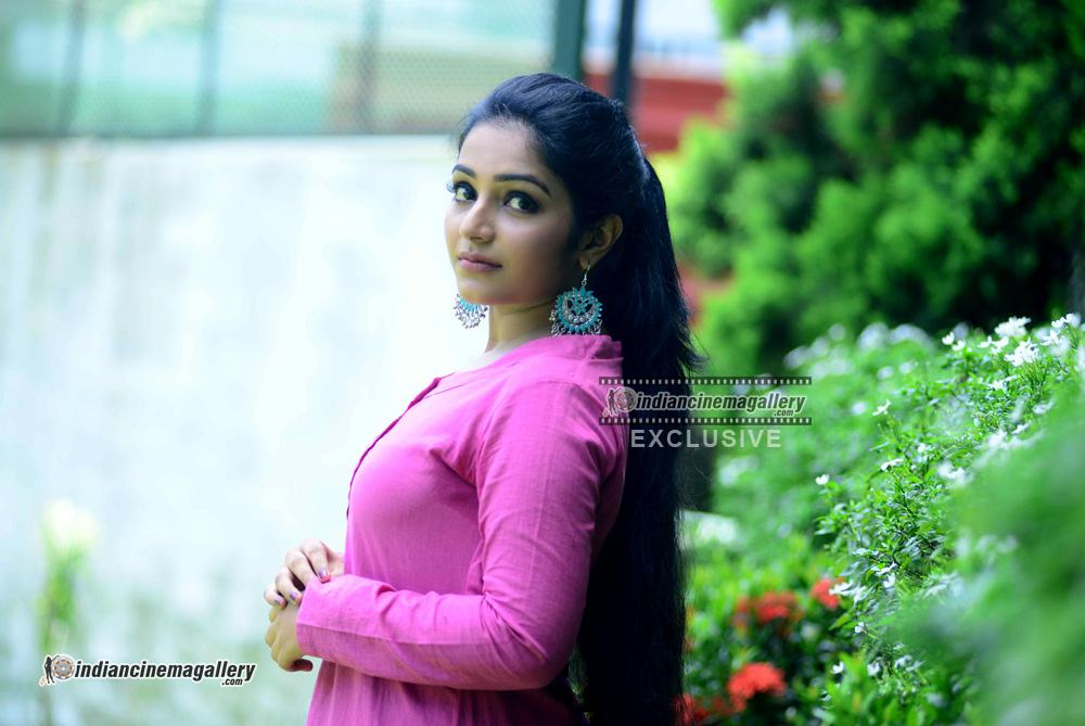 Rajisha Vijayan at oru cinemakkaran promo shoot (13)