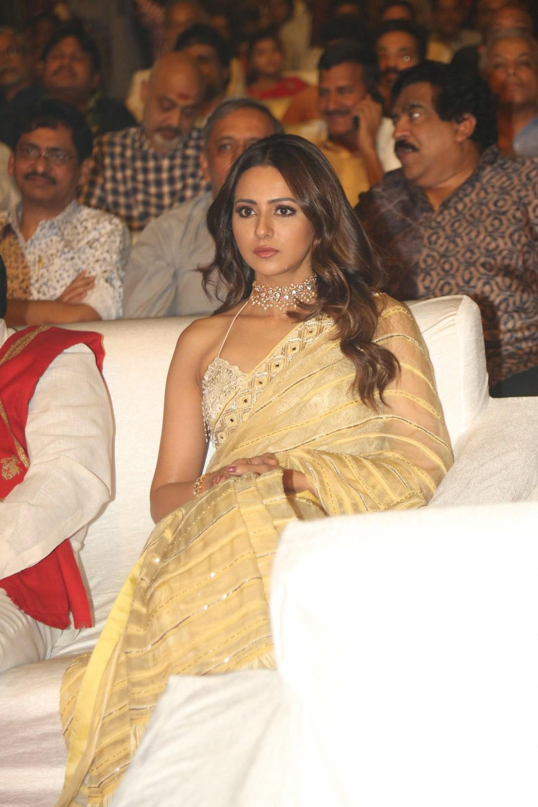Rakul Preet Singh at Ntr Biopic Kathanayakudu Audio Launch (5)