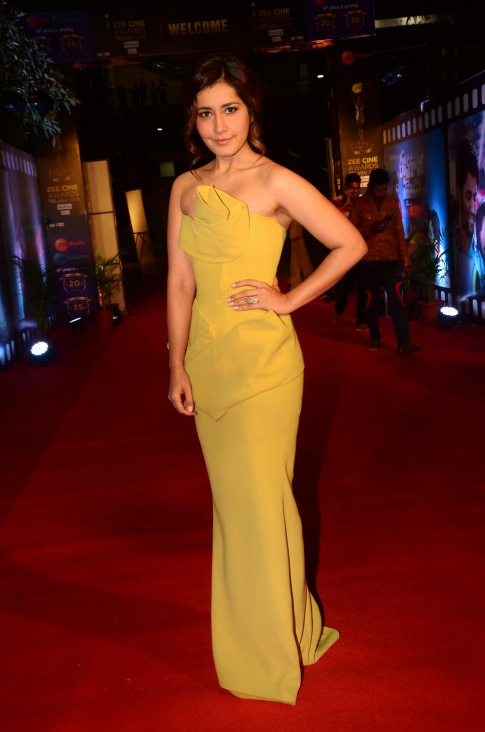 Rashi Khanna at Zee Awards 2019 (13)
