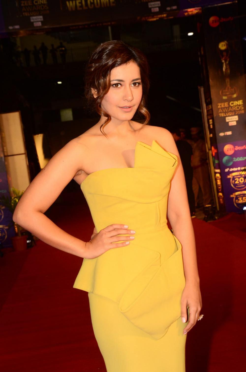 Rashi Khanna at Zee Awards 2019 (2)