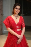 World Famous Lover Actress Raashi Khanna Red Dress Pics