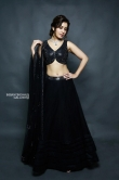 Rashi Khanna in black dress photo shoot (1)