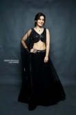 Rashi Khanna in black dress photo shoot (2)