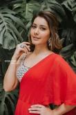 Rashi khanna in red dress stills (6)