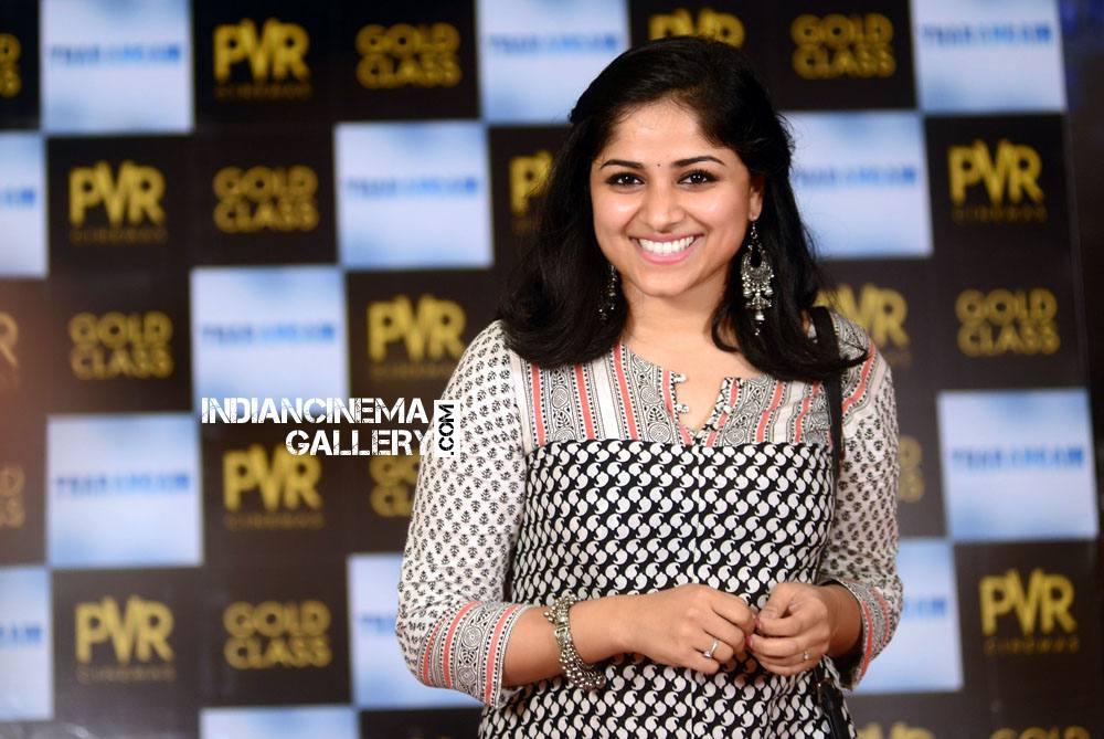 Chandini Sreedharan at Tharangam movie Premiere Show (16)