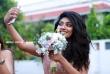 Samyukta Hornad at pearly maaney marriage (4)