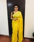 Shamna Kasim in yellow dress (1)
