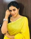 Shamna Kasim in yellow dress (2)