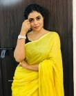 Shamna Kasim in yellow dress (3)