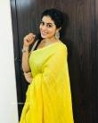 Shamna Kasim in yellow dress (4)