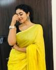 Shamna Kasim in yellow dress (5)