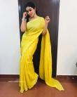 Shamna Kasim in yellow dress (6)
