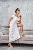 poorna new photoshoot in white dress (2)