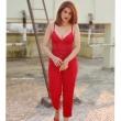 Shratha Dass in red dress (3)