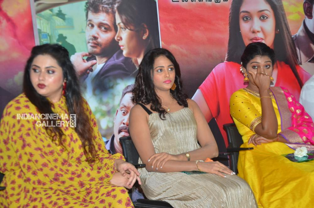 Subiksha at Nethra Movie Audio Launch (6)