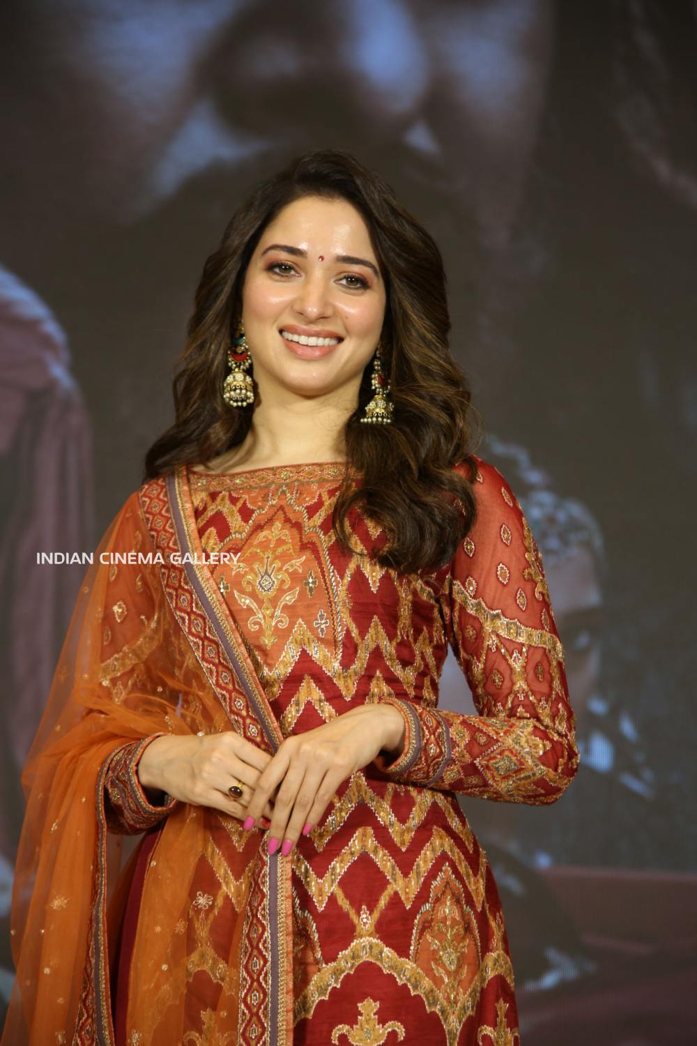 Tamannaah at sye ra narasimhareddy press meet (11)