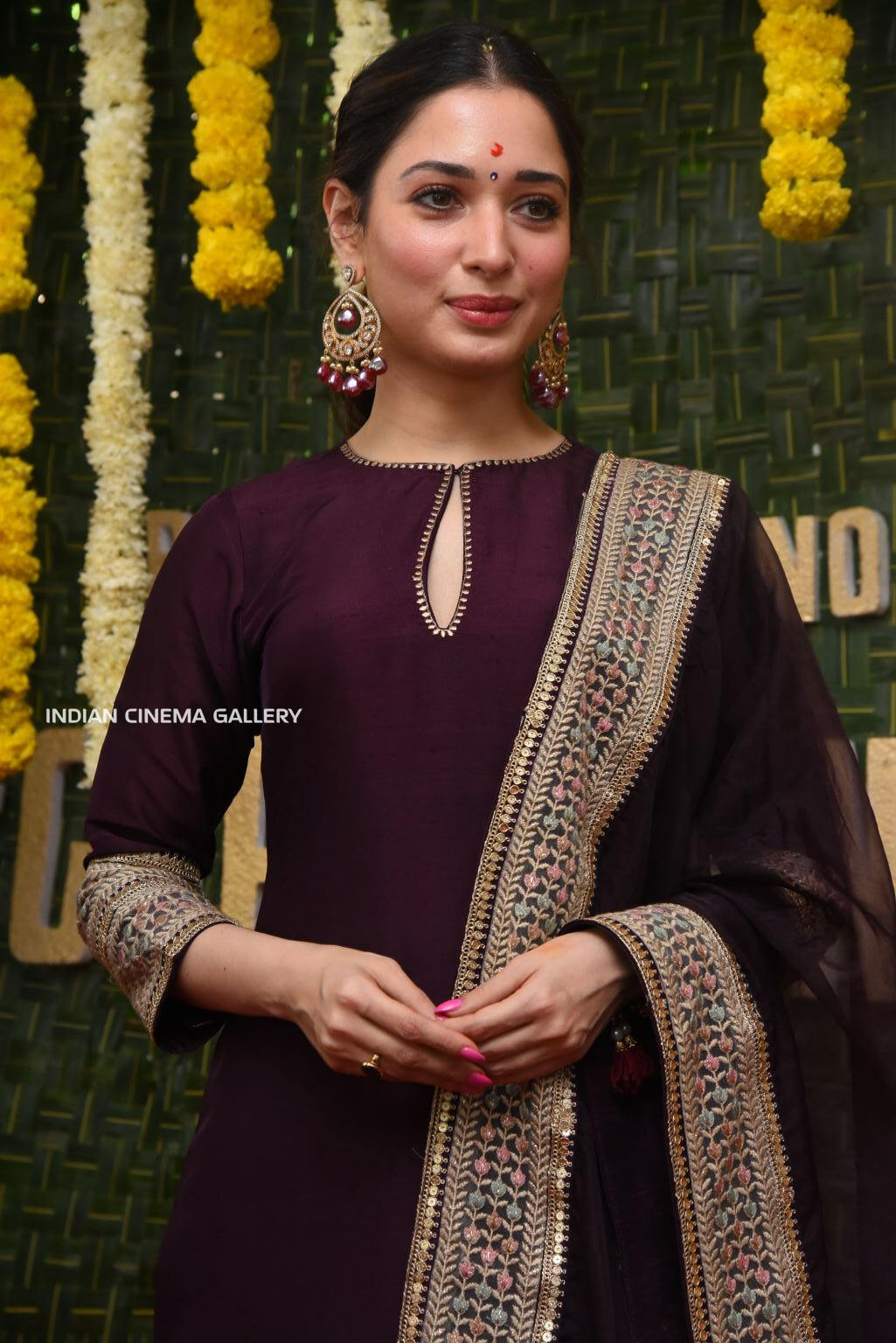 tamannah at gopichanda new movie opening (3)