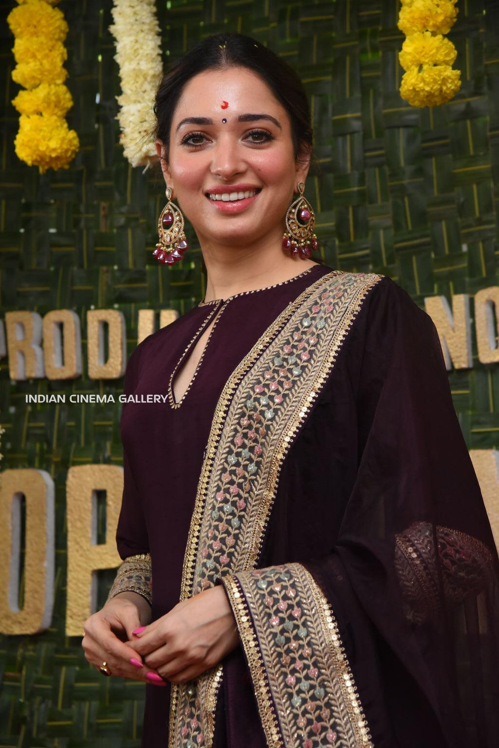 tamannah at gopichanda new movie opening (7)