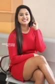 Chirashree anchan in red dress stills (10)
