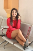 Chirashree anchan in red dress stills (3)