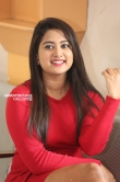 Chirashree anchan in red dress stills (4)