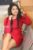 Chirashree anchan in red dress stills (6)