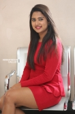 Chirashree anchan in red dress stills (7)