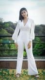 Digangana Suryavanshi in white dress stills (1)