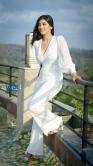 Digangana Suryavanshi in white dress stills (2)