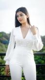 Digangana Suryavanshi in white dress stills (3)