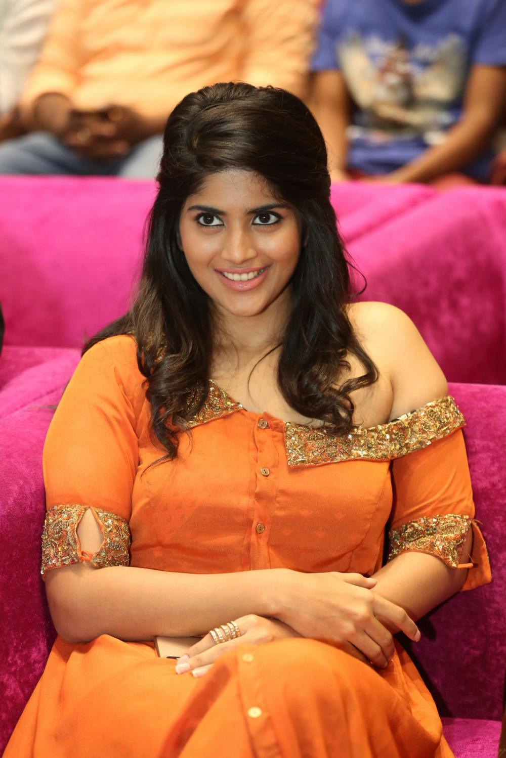 Megha Akash at peta movie audio launch (1)