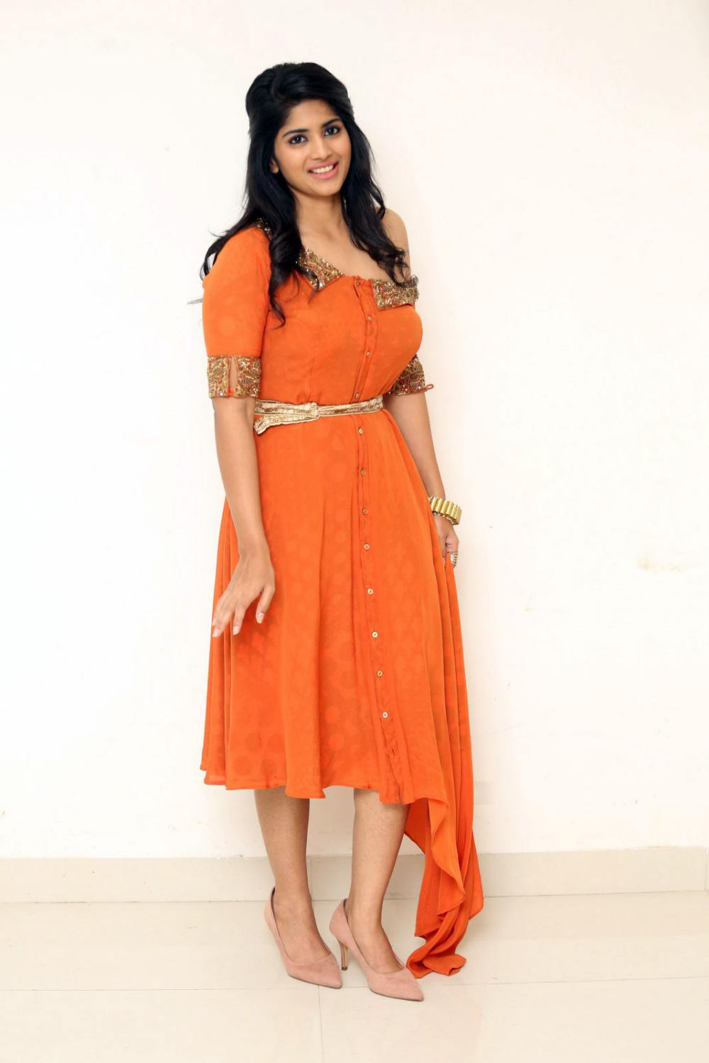 Megha Akash at peta movie audio launch (5)