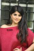 Megha-Akash-in-red-dress-13