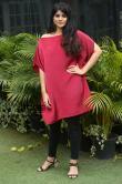 Megha-Akash-in-red-dress-17