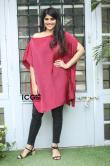 Megha-Akash-in-red-dress-2