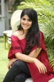 Megha-Akash-in-red-dress-22