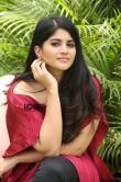 Megha-Akash-in-red-dress-24