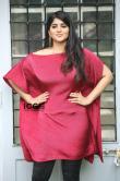 Megha-Akash-in-red-dress-3