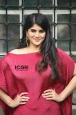 Megha-Akash-in-red-dress-5
