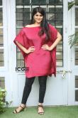 Megha-Akash-in-red-dress-6