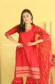 Megha Chowdhury stills in red dress (1)