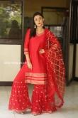 Megha Chowdhury stills in red dress (10)