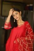 Megha Chowdhury stills in red dress (14)