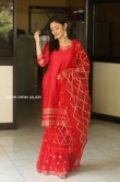 Megha Chowdhury stills in red dress (15)