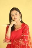 Megha Chowdhury stills in red dress (2)
