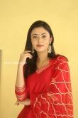 Megha Chowdhury stills in red dress (4)